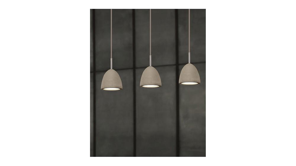 Small Concrete Pendant Lamp