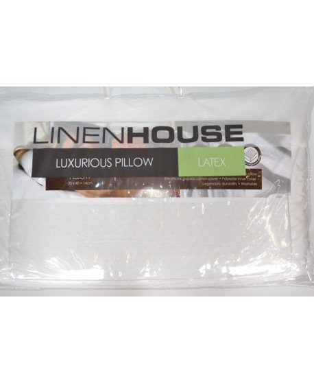 Linen House Luxurious Latex Pillow