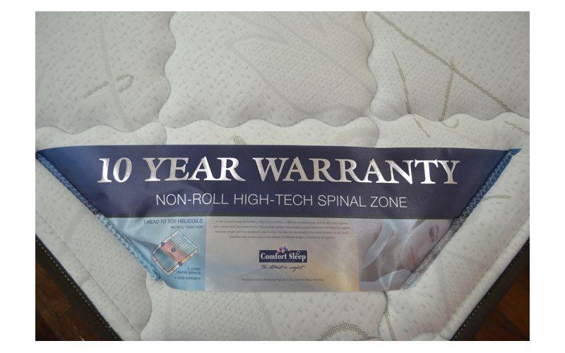 fort Sleep Chiro Zone Gold Pillow Top Mattress