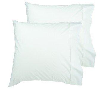 Easyrest European Twin Pack Premium 300 Thread Cotton Pillowcase