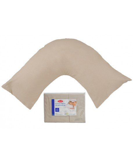Pillowcase V-Shape twin pack Premium 300 Thread Count