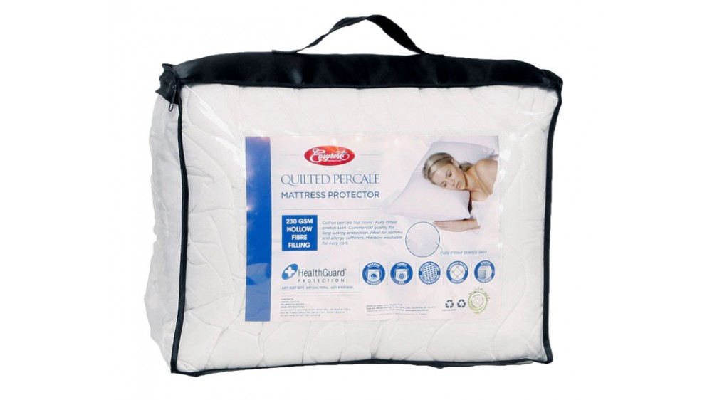 EasyRest Quilted Pecal Fully Fitted Mattress Protector