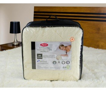 EasyRest Reversible 600GSM Australian Wool Underlay