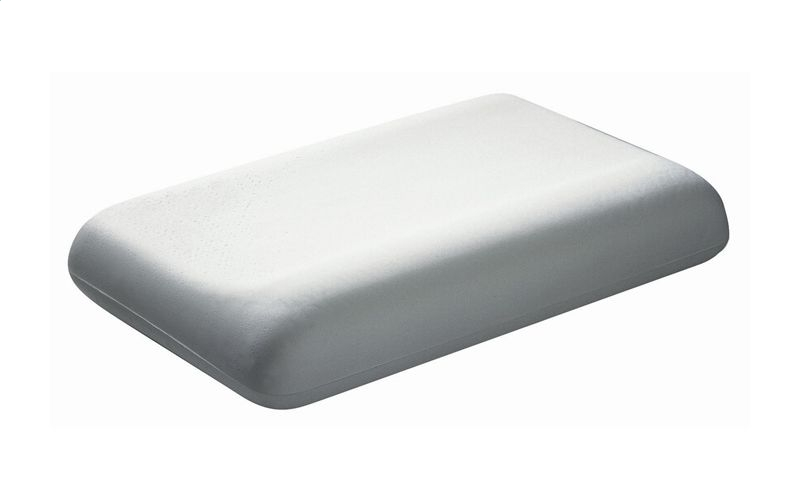 dentons low profile contoured pillow With best low profile pillow
