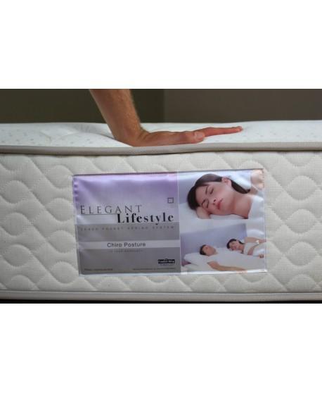 Comfort Sleep Chiro Posture Pocket Spring Mattress