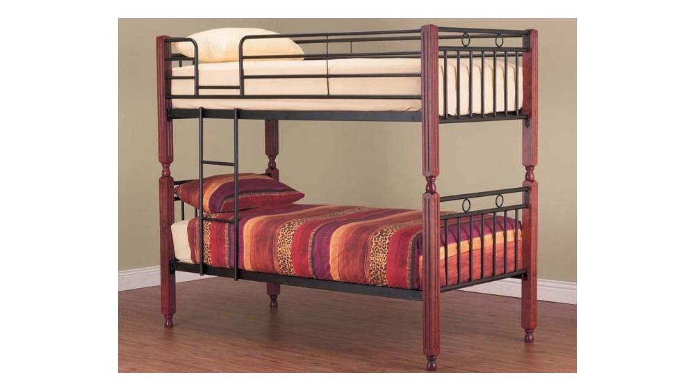 Essex Metal Timber Bunk Bed