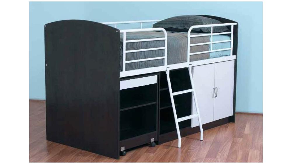 Studio Storage Loft Bed