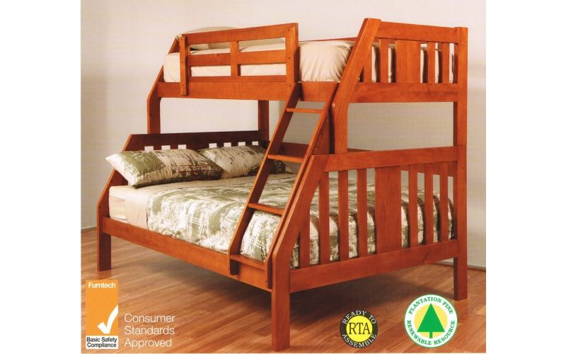 Double Single Bunk Bed 600 x 600