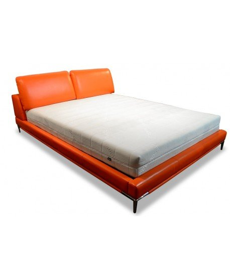Zoe Genuine Leather Bed
