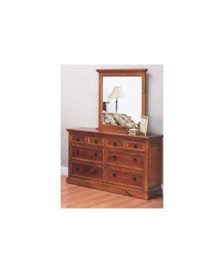 Auckland Timber Dresser and Mirror