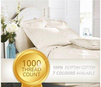 1000 Thread Count 100% Egyptian Cotton Sheet Set