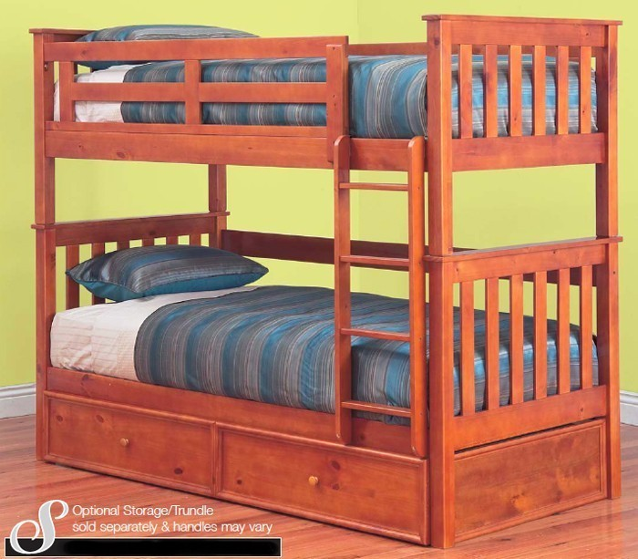 Fort Timber Bunk Bed Option For Trundle
