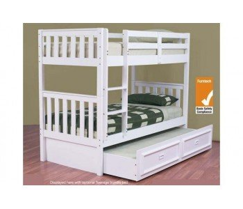 Jester Trio Timber Bunk Bed