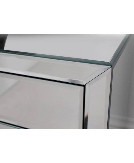 Coco Mirrored Bedside Set of 2