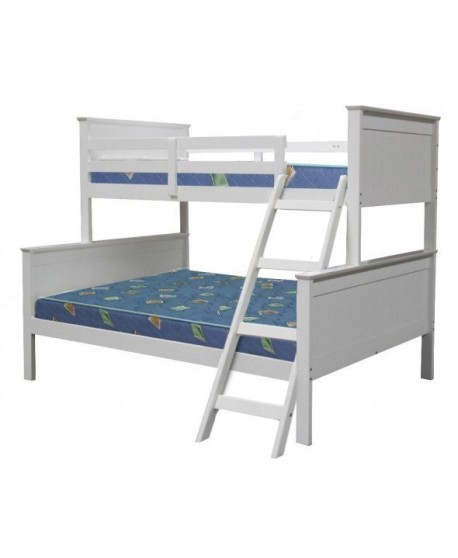Louise Single + Double Timber Bunk Bed