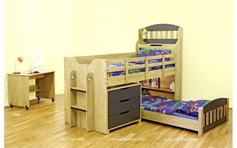 Toby Single Loft Bed