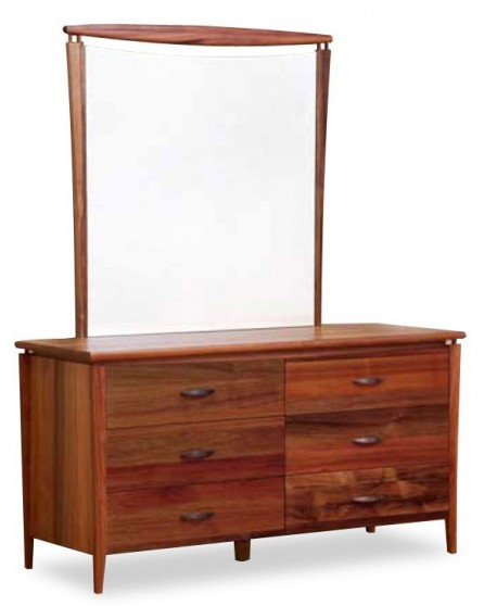 Glendale Dresser and Mirror