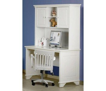 Mozart Timber Desk with Hutch