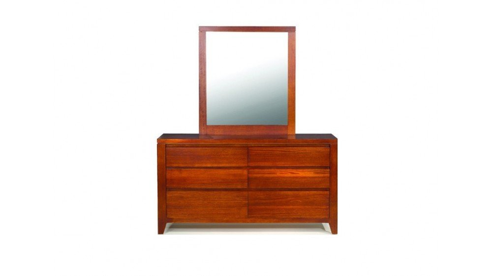 Balmoral Timber Dresser and Mirror