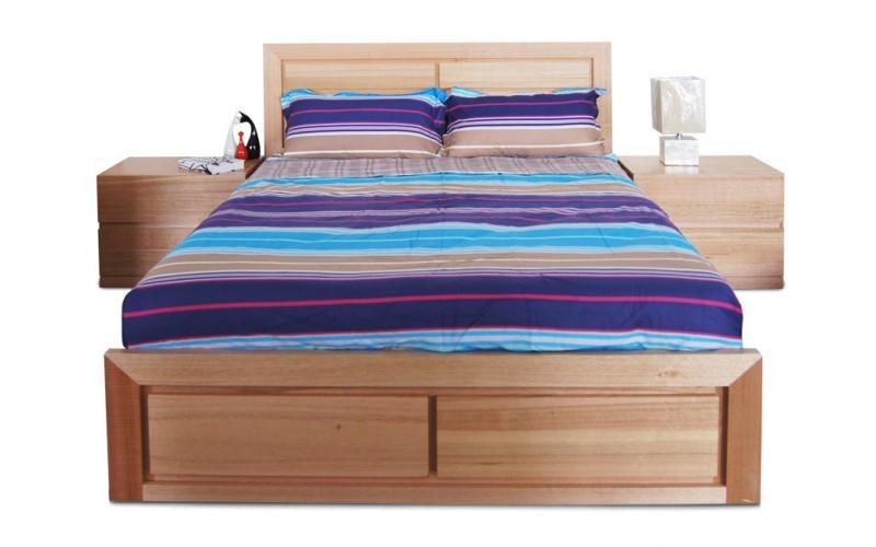 Ocean Bed Frame Tasmania Oak Queen Size