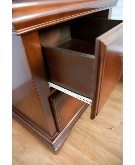 Shelby Timber Bedside