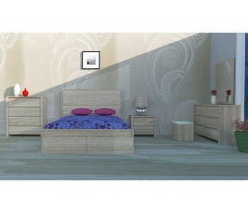 Ashley Timber Bed Frame - Bedroom Suite Options