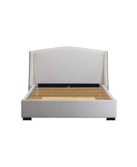 Balmoral Upholstered Natural Linen Bed Frame