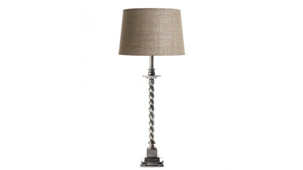 Roxbury Table Lamp Antique Brass/Silver