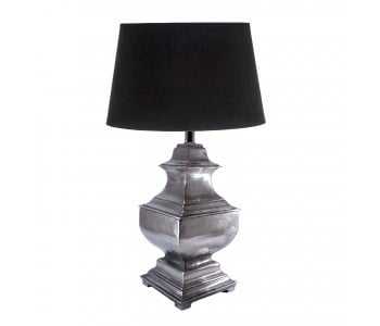 Delphi Lamp - Antique Silver