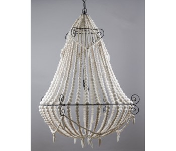 Beaded Chandelier Large