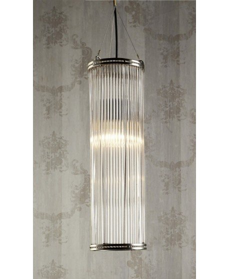 Verre Large Pipe Glass Pendant Lamp