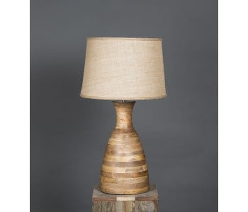 Emac & Lawton Singelton Wooden Table Lamp