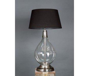 Emac & Lawton Nero Glass Table Lamp