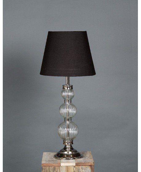 Emac & Lawton Piccadilly Glass Ball Table Lamp