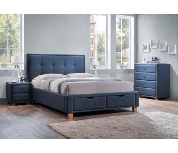 Halo Upholstered Storage Bed - Bedroom Suite Options