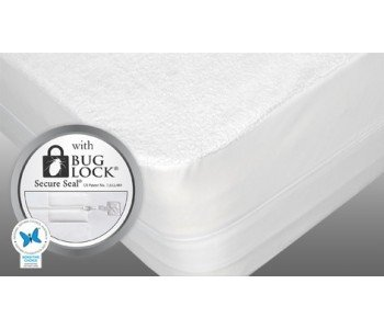 Protect-A-Bed Allerzip Terry Fully Encased Mattress Protector
