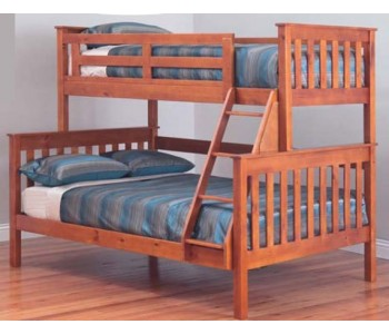 Fort Trio Bunk Bed