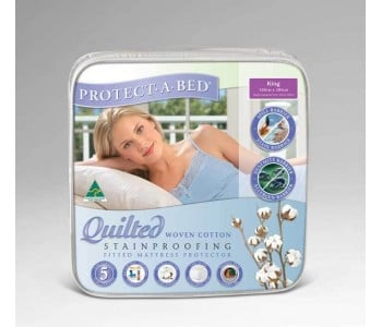 Protect-A-Bed Cotton Quilted Mattress Protector