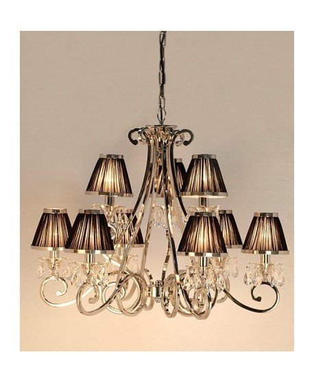 Luxuria 9 Light Chandelier