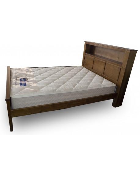 Mixi Timber Bed Frame - Bedside Optional