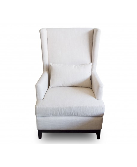 Luxury Lex Arm Chair In Natural Colour