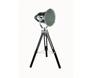 Chrome Spotlight Table Lamp