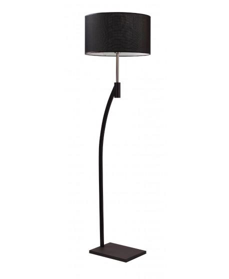 Turos Floor Lamp In Black Or White