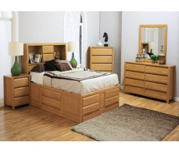 Rozelle Timber Bedroom Suite