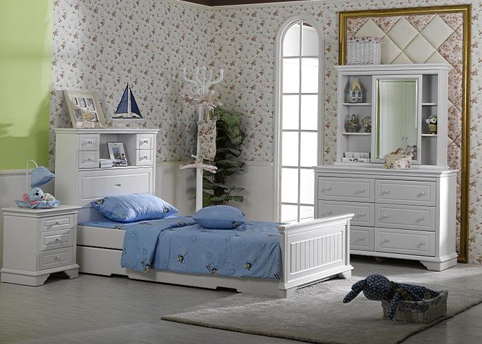 Da Vinci Timber Bed Frame Bedroom Suites For Kids