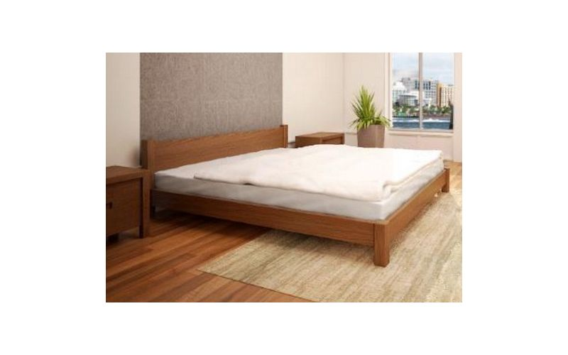 Louise Low Timber Bed Frame Custom Made Beds
