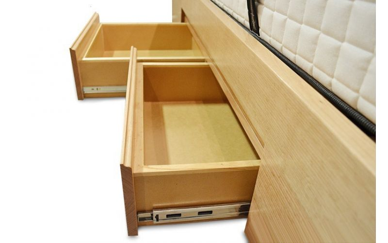 Norway Timber 4 Drawers Bed Frame Fully Customisable