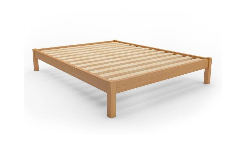 Bachelor space saver timber bed frame - Platform bed frame australia ...