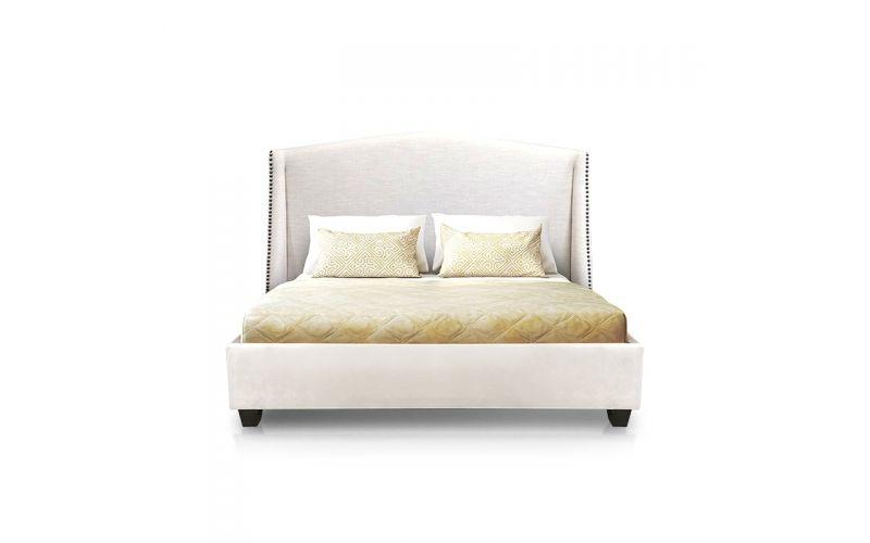 Balmoral upholstered custom bed frame for Custom made bed frame