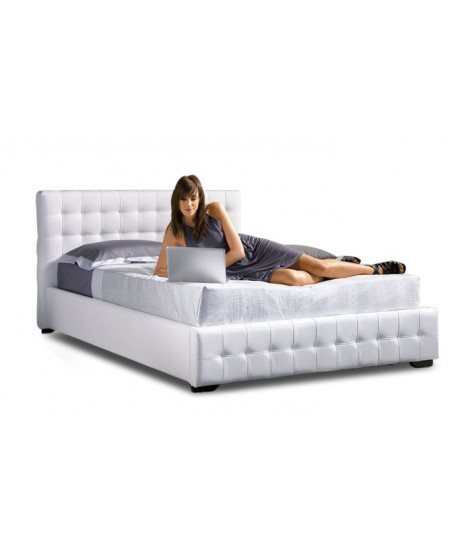 Charlotte Gas Lift Upholstered Bed Frame